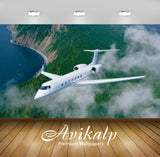 Avikalp Exclusive Awi2692 Gulfstream G550 Airplane Aviation Aircraft Full HD Wallpapers for Living r