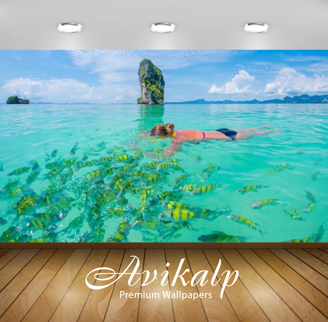 Avikalp Exclusive Awi2759 Krabi Private Luxury Island Thailand Beach White Sand Blue Waters Caves Fu