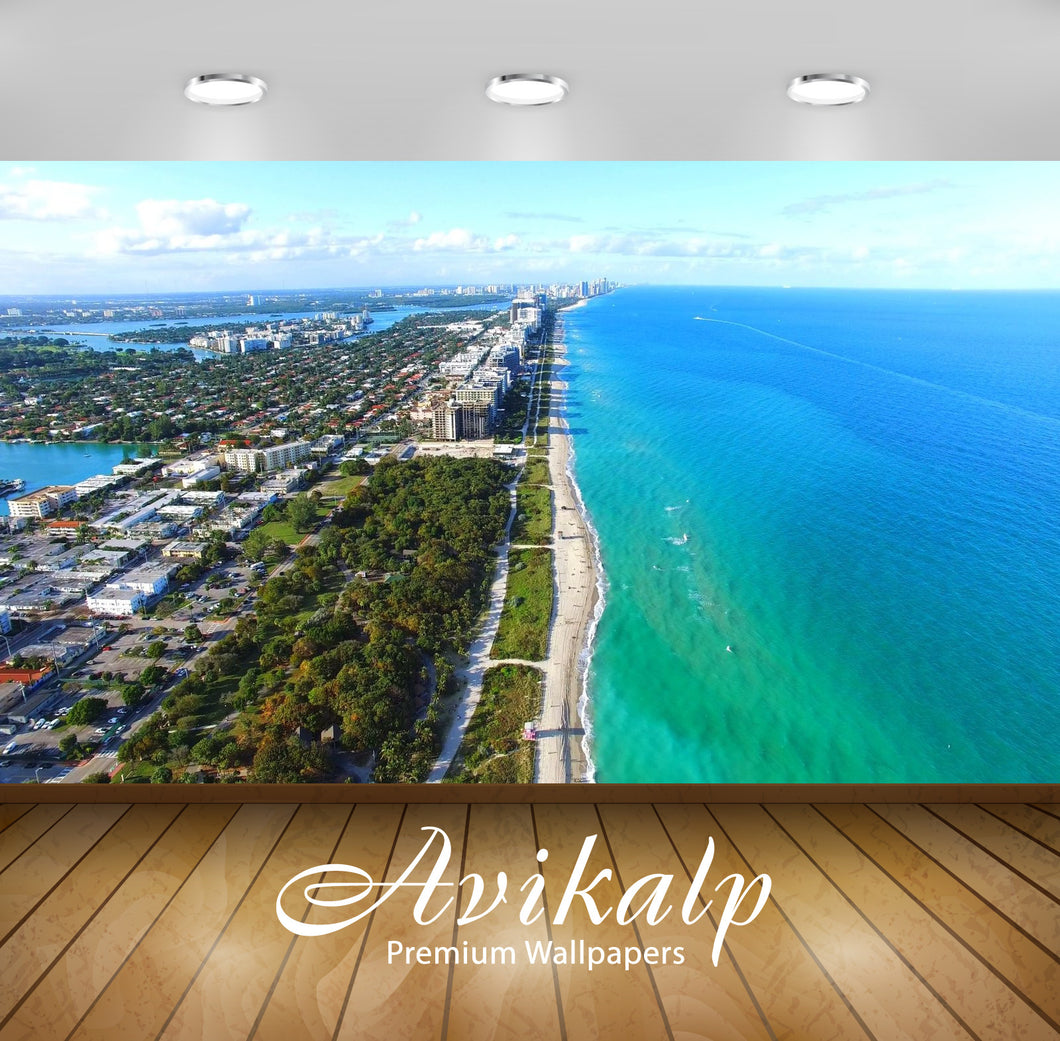 Avikalp Exclusive Awi2824 Miami Beach Florida Northshore Open Space Park Beaches And City Park From
