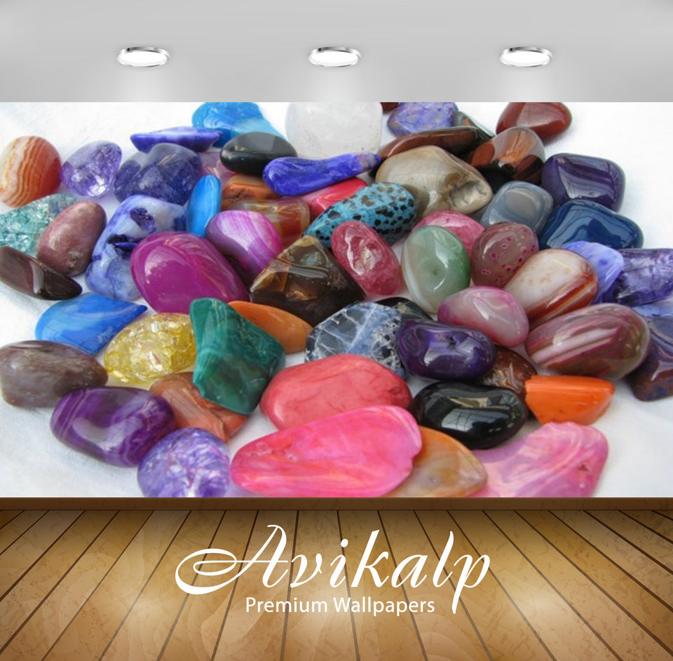 Avikalp Exclusive Awi2831 Minerals And Crystals In All Color Full HD Wallpapers for Living room, Hal