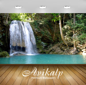 Avikalp Exclusive Awi2844 National Park Kanchanaburi Thailand Waterfall Full HD Wallpapers for Livin