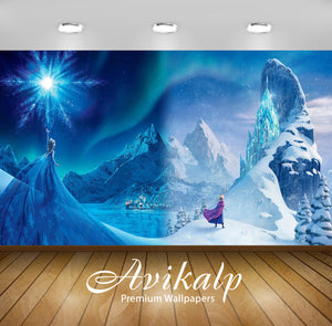 Avikalp Exclusive Awi3455 Frozen 31894 1920x1 Full HD Wallpapers for Living room, Hall, Kids Room, K