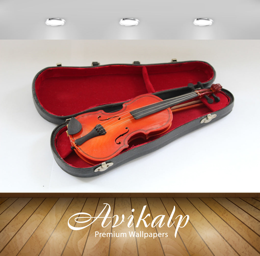 Avikalp Exclusive Premium violin HD Wallpapers for Living room, Hall, Kids Room, Kitchen, TV Backgro