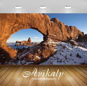 Avikalp Exclusive Awi6418 Sun Shining Upon Arches National Park Nature Full HD Wallpapers for Living
