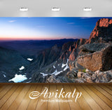 Avikalp Exclusive Awi6429 Sunlight On Rocky Cliff Nature Full HD Wallpapers for Living room, Hall, K