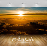 Avikalp Exclusive Awi6478 Sunset Above The Clouds Nature Full HD Wallpapers for Living room, Hall, K
