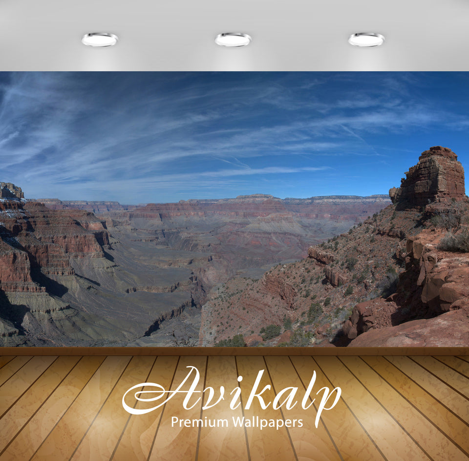Avikalp Exclusive Awi6554 The Grand Canyon Nature Full HD Wallpapers for Living room, Hall, Kids Roo