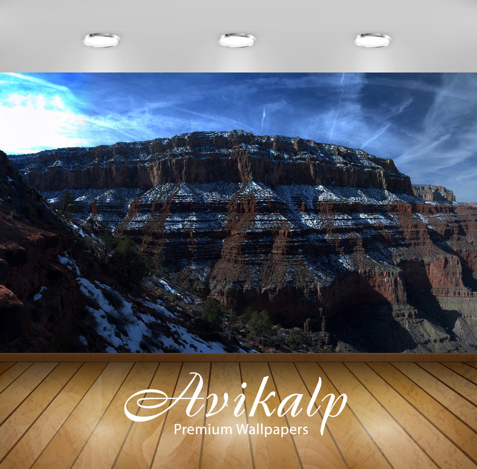 Avikalp Exclusive Awi6556 The Grand Canyon Nature Full HD Wallpapers for Living room, Hall, Kids Roo