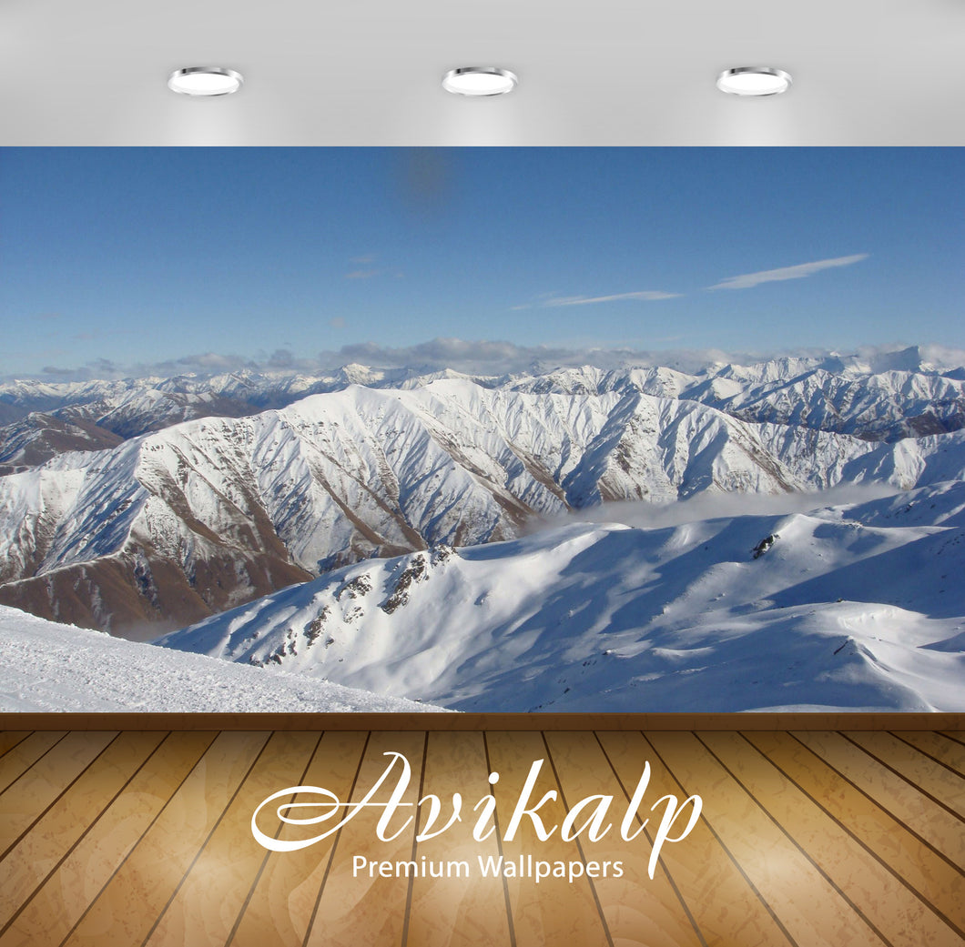 Avikalp Exclusive Awi6557 The Remarkables New Zealand Nature Full HD Wallpapers for Living room, Hal