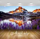 Avikalp Exclusive Awi6570 Thousand Island Lake Nature Full HD Wallpapers for Living room, Hall, Kids