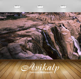 Avikalp Exclusive Awi6675 Waterfalls Nature Full HD Wallpapers for Living room, Hall, Kids Room, Kit