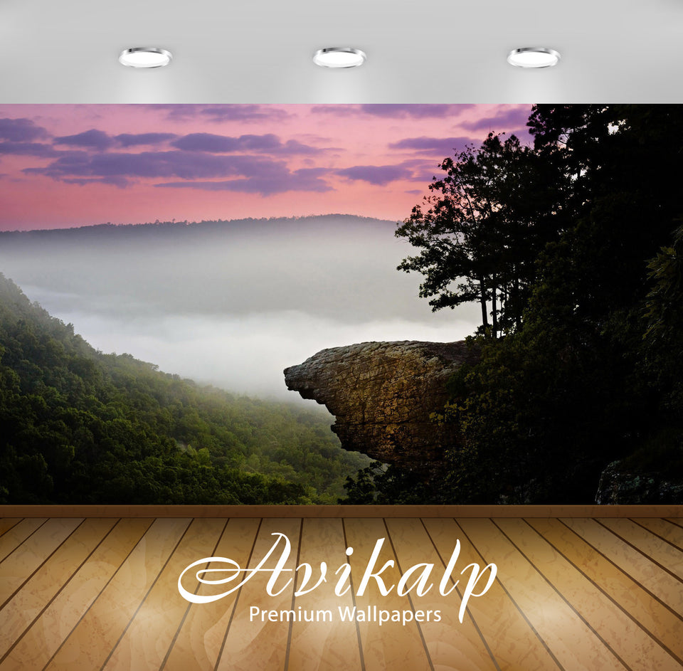Avikalp Exclusive Awi6688 Whitaker Point Arkansas Nature Full HD Wallpapers for Living room, Hall, K