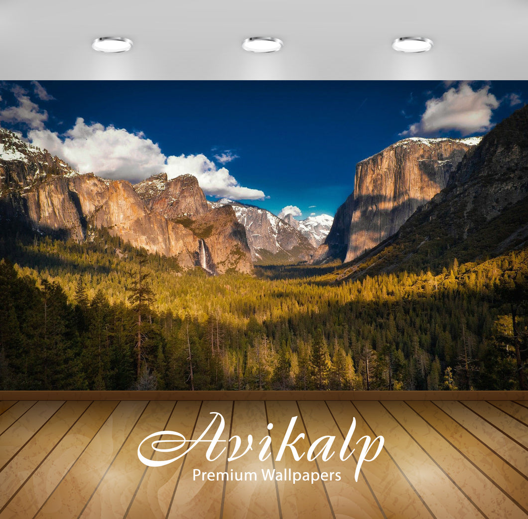 Avikalp Exclusive Awi6762 Yosemite National Park Nature Full HD Wallpapers for Living room, Hall, Ki