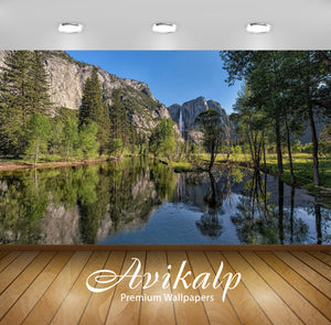 Avikalp Exclusive Awi6767 Yosemite National Park Nature Full HD Wallpapers for Living room, Hall, Ki