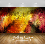 Avikalp Exclusive AWI747 Abstract HD Wallpapers for Living room, Hall, Kids Room, Kitchen, TV Backgr