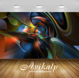 Avikalp Exclusive AWI752 Abstract HD Wallpapers for Living room, Hall, Kids Room, Kitchen, TV Backgr