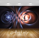 Avikalp Exclusive AWI790 Abstract HD Wallpapers for Living room, Hall, Kids Room, Kitchen, TV Backgr