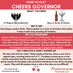 Cheers Governor Drinking Game