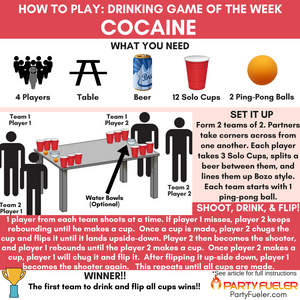 Cocaine Drinking Game