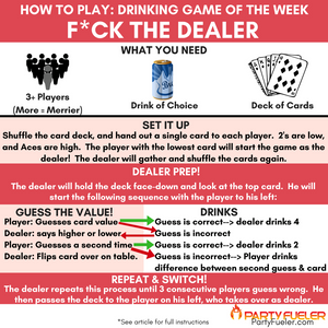 Fuck The Dealer Card Game