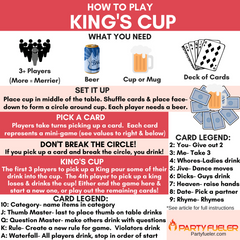 King's Cup Drinking Game