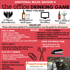 The Office Drinking Game: Season 4 Extra Rules