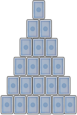 Pyramid Drinking Game Set-Up
