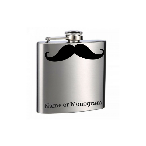 Mustache You a Question Flask