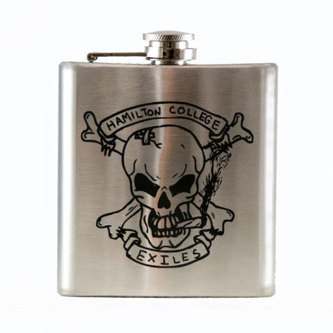 Laser-Engraved Stainless Steel Flask