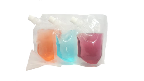 8 oz Plastic Flasks, Rum Runners