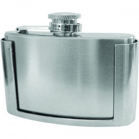 Belt Buckle Disguise Flask (3 oz)
