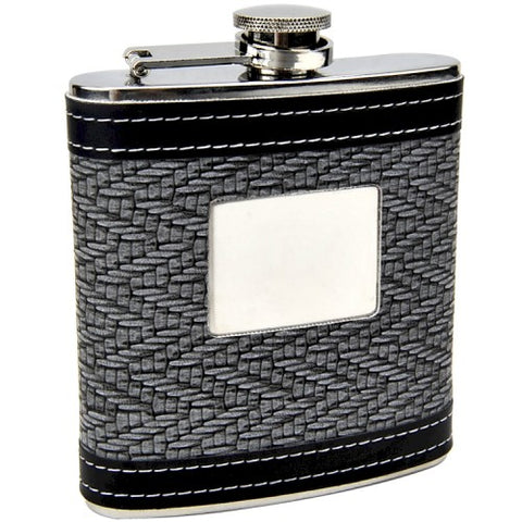 """The Intellectual"" Personalized Flask (6 oz)"