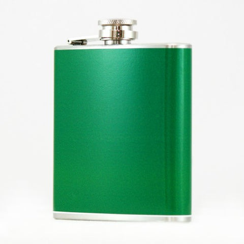 Green Colored Flask