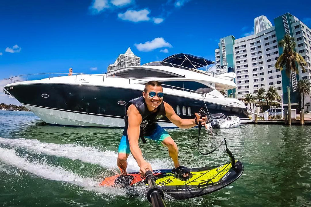 6 Reasons why JetSurf is the Best Toy for your Yacht