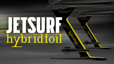 Brand new feature: Jetsurf Hybridfoil Concept