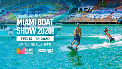Visit JetSurf USA at Miami Boat Show 2020!