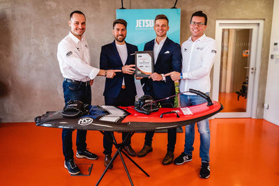 JetSurf USA won the World's Best JetSurf Dealer Award