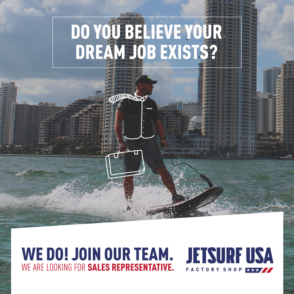 Do you believe your dream job exists? Join our team.