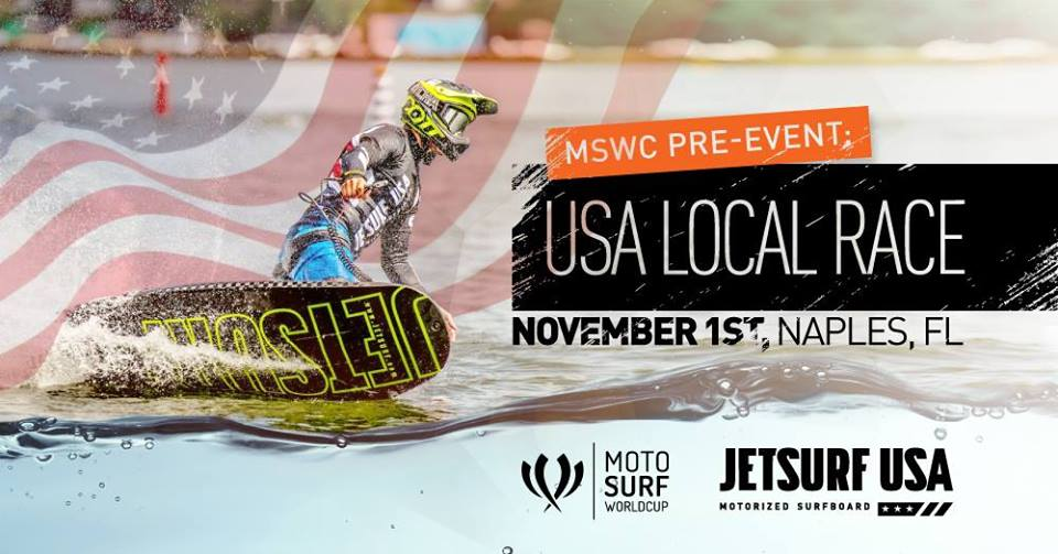 Jetsurf event Florida, MSWC pre-event, MotoSurf World cup event