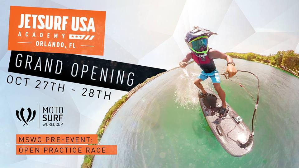 JetSurf academy grand opening, Orlando academy opening, MSWC practise race, Jetsurf event florida