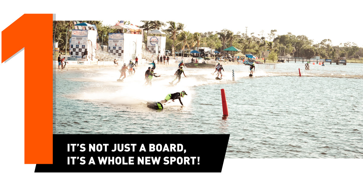 Why to buy a JetSurf - it is a whole new sport