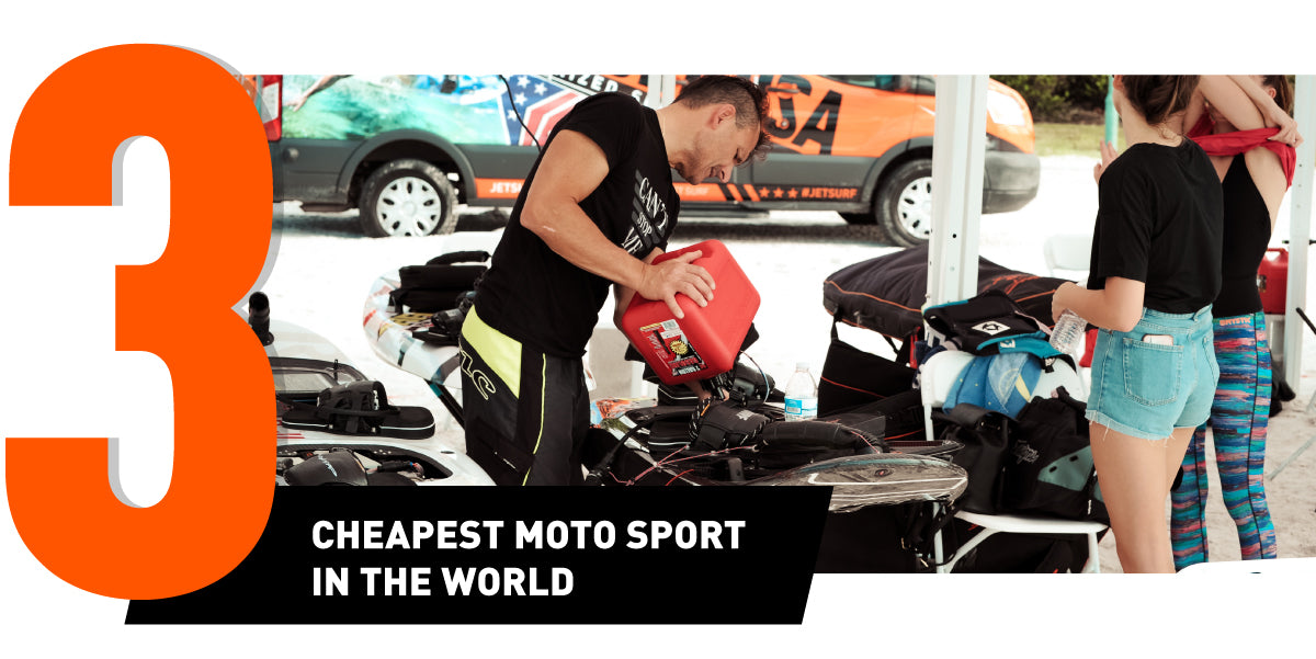 why to buy a JetSurf - cheapest motosport