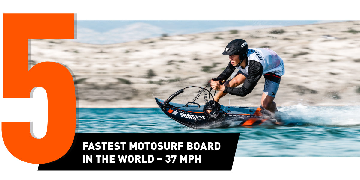 You should buy a JetSurf - the fastest motosurf