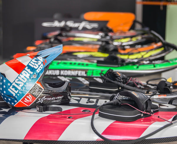 Pre-owned JetSurf boards in  our Miami store