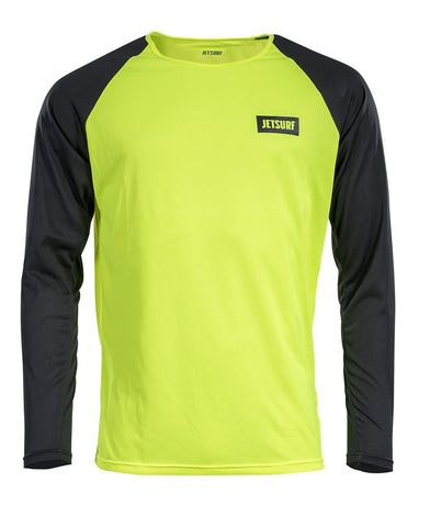 Jetsurf Dryfit Long Sleeve Fluo Yellow