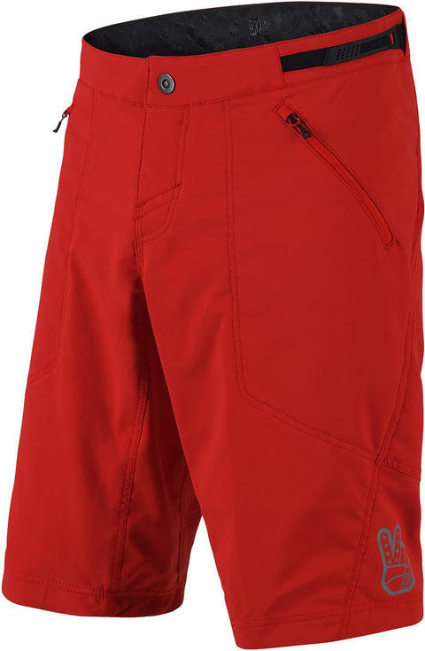 SKYLINE SHORTS SHELL - RED