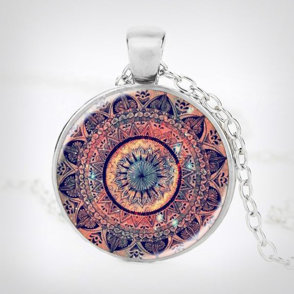 Kaleidoscope Design Necklace Mandala