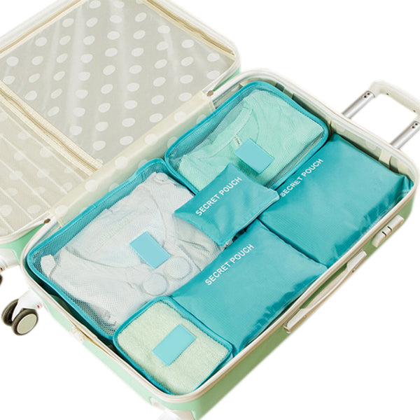 Travel Bag Organizers Packing Cubes