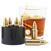 Stainless Steel Bullet Shaped Drink Chillers