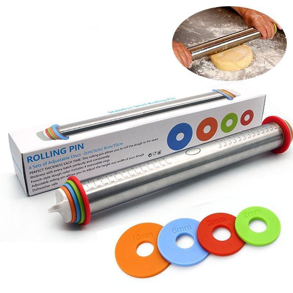 Adjustable Dough Rolling Pin